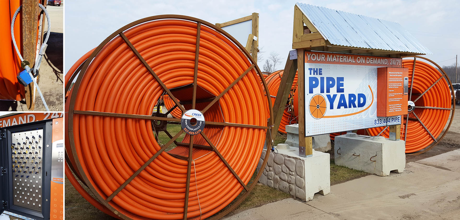 The Pipe Yard   Creek Plastics LLC